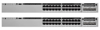 الصين WS-C3850-24P-E Stackable Network Switch 24 Port Gigabit IP Services Features مصنع
