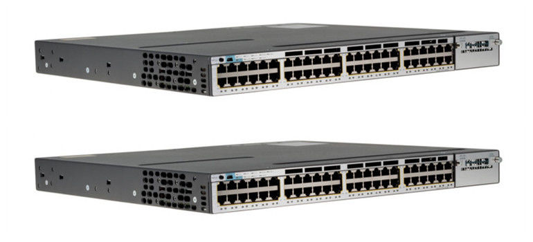 Cisco Managed POE Ethernet Network Switch 3750X Series WS-C3750X-48PF-S