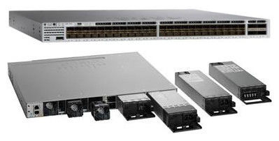 Enterprise 48 Port 10 Gigabit SFP Switch Managed Multi Layer WS-C3850-48XS-E