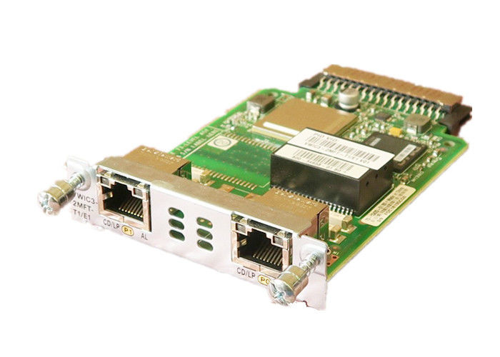 T-1/E-1 Line Rate Cisco Network Module 2 Port NIB Interface Card VWIC3-2MFT-T1/E1