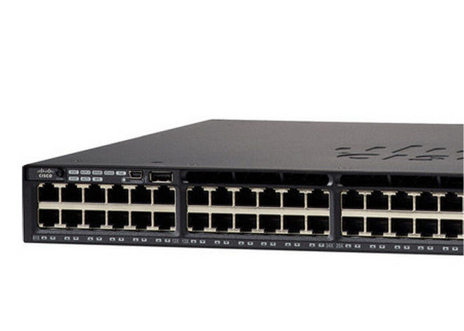 IP Services Feature Set Gigabit LAN Switch WS-C3650-48TQ-E 160Gbps Stack Bandwidth