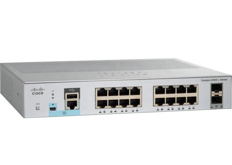 Cisco 2960L Series 8 Port Gigabit Network Switch WS-C2960L-8TS-LL